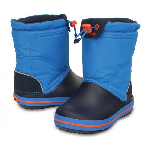Crocs kék-narancssárga-összehúzós csizma 8926c2cafd