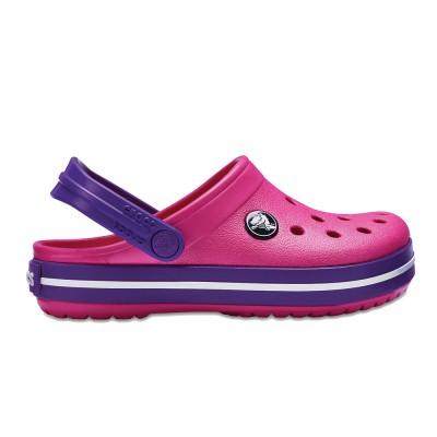 Crocs Crocband gyerek papucs pink d09ade0261