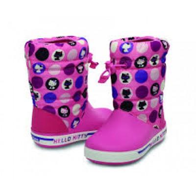 Crocs rózsaszín-hellokitty csizma 2cf9cd41e2