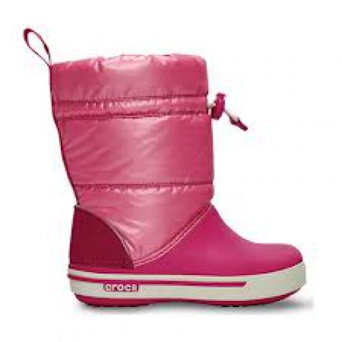 Crocs rózsaszín-összehúzós csizma afb9341158