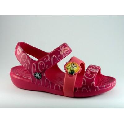 Crocs pink-frozen szandál 96e15ccb21